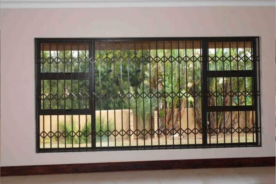 Trellis Burglar Bars (Slide or Fixed)