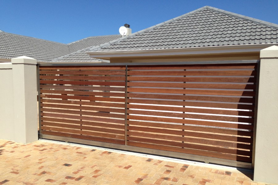 Stainless Steel Frame & Wood Cladding